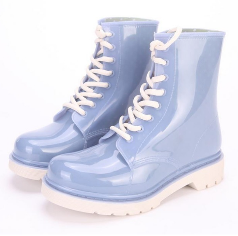 kawaii rubber rain boots waterproof water shoes cute cartoon characters youthful kidcore toywave kiddie chire candy colored harajuku japan fashion by kawaii babe