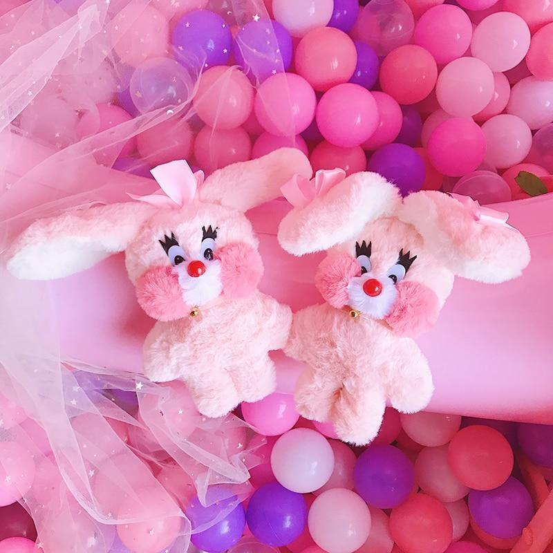 Bubblegum Bunny Plushie - Set of Both - fairy kei, little mouse, mimi plush, plush toys