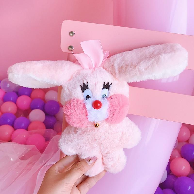 Bubblegum Bunny Plushie - Straight Ears - fairy kei, little mouse, mimi plush, plush toys