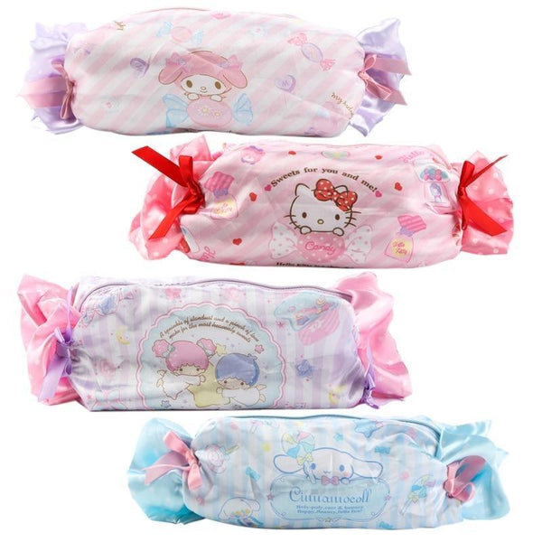 Kawaii Fairy Kei My Melody Cosmetic Make-Up Bag Pencil Case Candy Wrapper Shaped