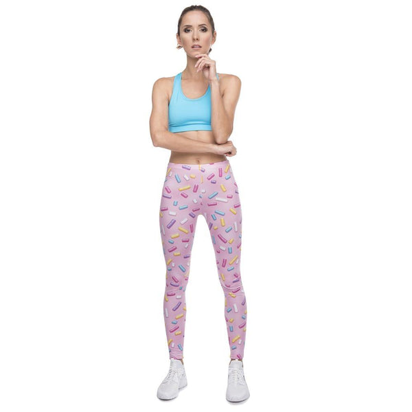 Candy Sprinkles Leggings - pants