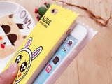 Kawaii Character 3D Candy Wrapper iPhone Case Phone Protector Rubber Soft