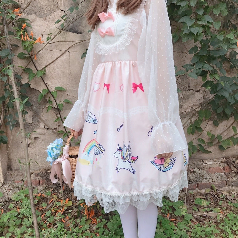 Cartoon Kingdom Lolita Dress - classic lolita, dresses, jsk, jsk dress, fashion