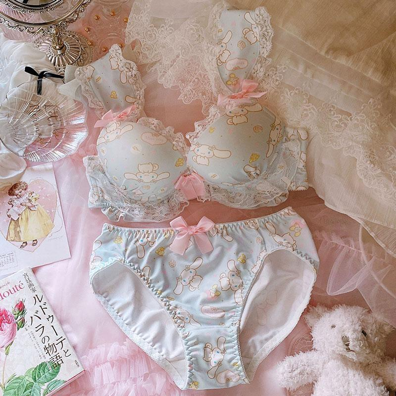 Cinnamoroll Luxury Lingerie Set - bra, bras, brasier, cinnamoroll, cups