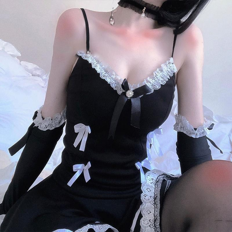 Classic French Maid Dress - cosplay, cosplayer, costume, costumes, french maid