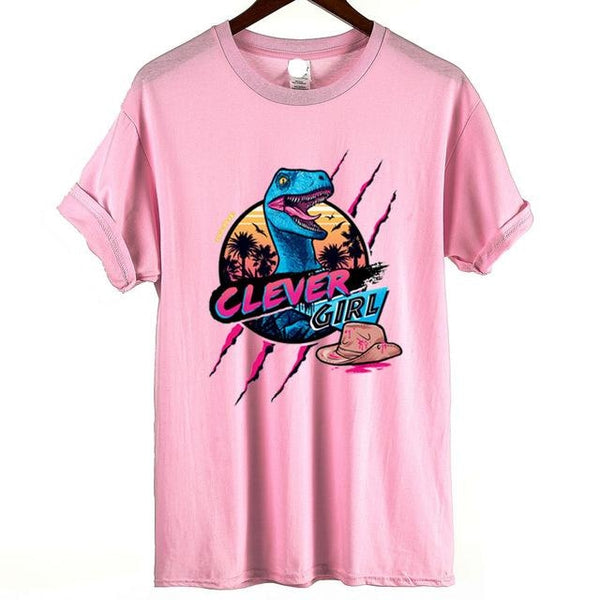 Clever Girl Tee - Pink / XS - Skirts