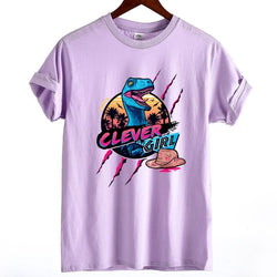 Clever Girl Tee - Purple / XS - Skirts