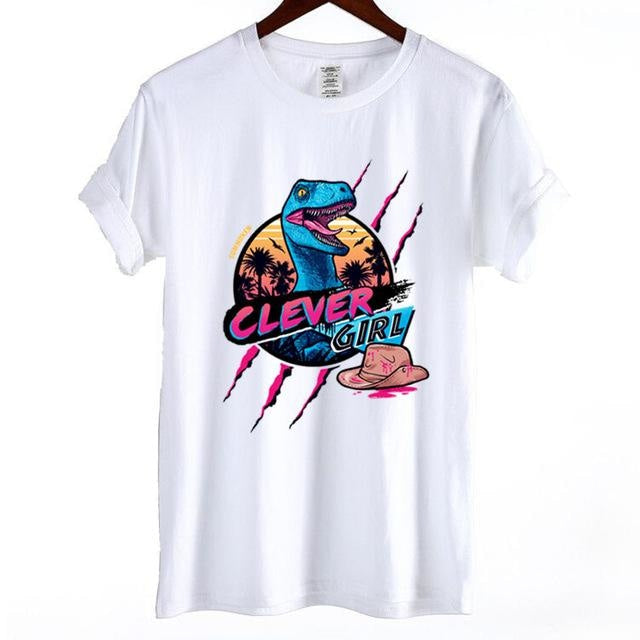 Clever Girl Tee - White / XS - Skirts