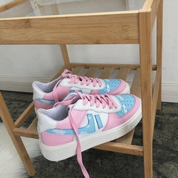 Cotton Candy Sneakers - 4 - Shoes