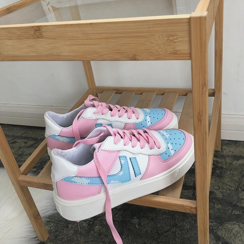 Cotton Candy Sneakers - Shoes