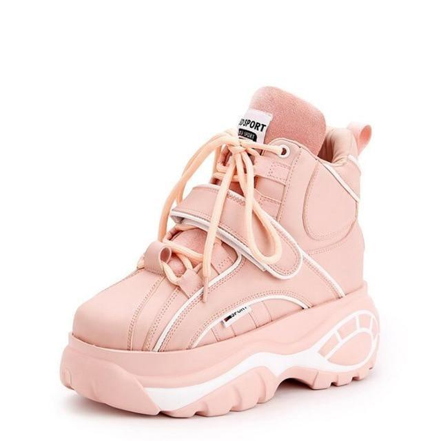Cyber Babydoll Sneakers - Pink / 5 - shoes