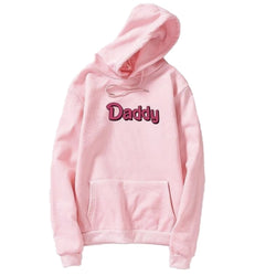 Daddy Hoodie - Pink / L - sweater