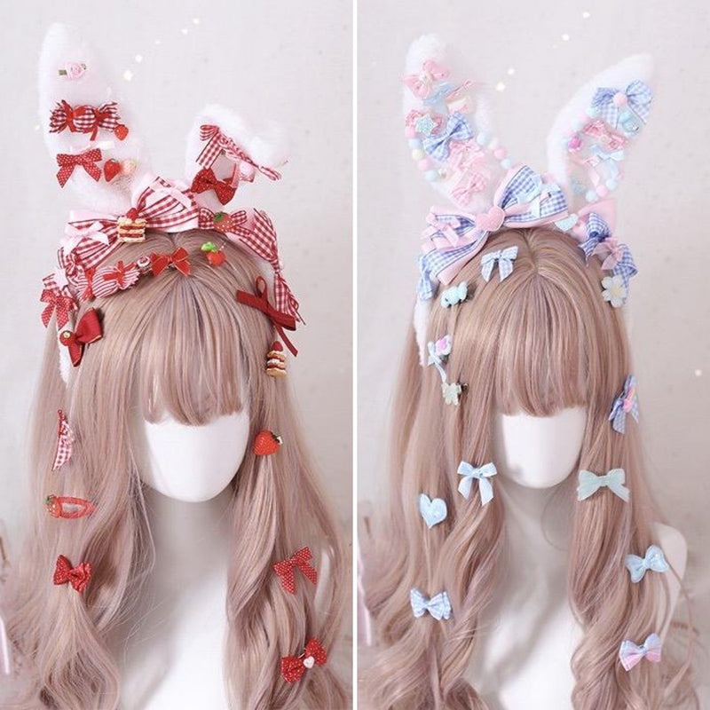 Decora Handmade Bunny Ears - accessories, baby bun, bunny ear, ear headband, ears
