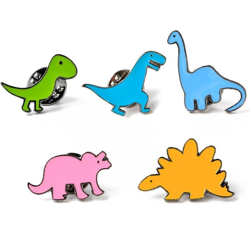 Colorful Dinosaur Enamel Pins Lapel Brooch Kidcore Youthful Little Space CGL ABDL