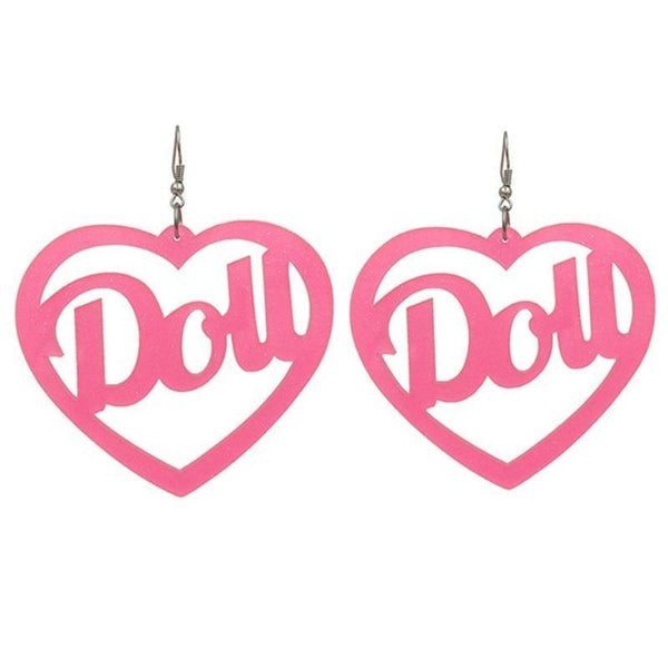 Doll Hoop Earrings - earrings