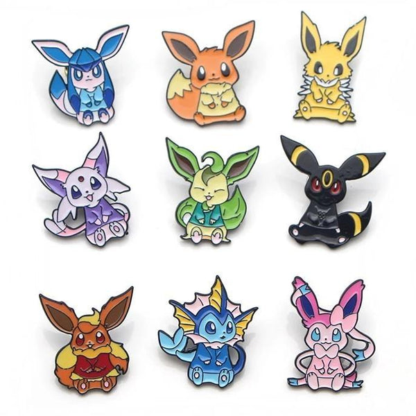 Eeveelution Pins - pin