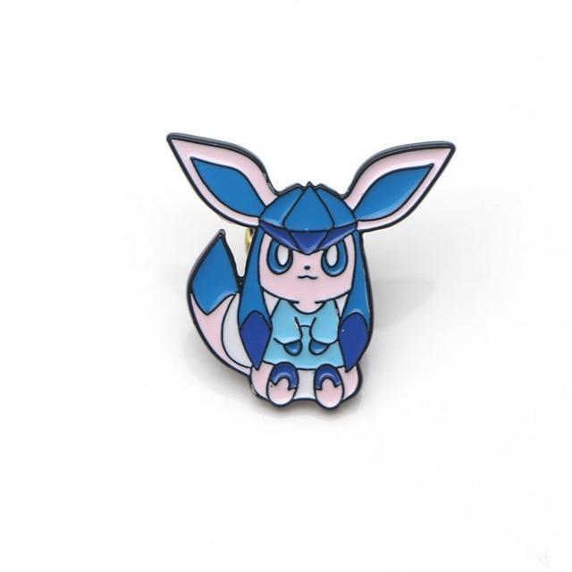 Eeveelution Pins - Glaceon - pin