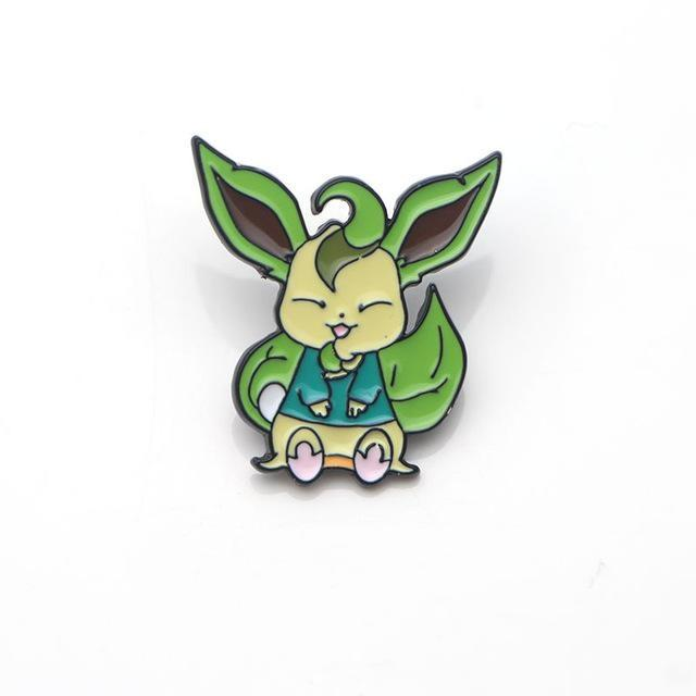 Eeveelution Pins - Leafeon - pin