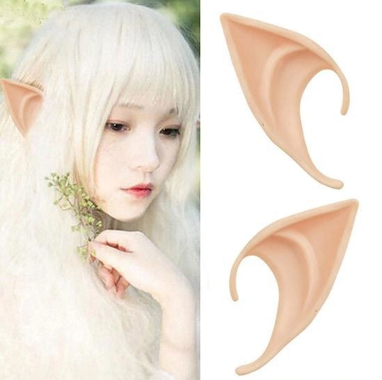 Kawaii Elf Ears Elven Cosplay Fairy Mythical Mythological LOTR Costume