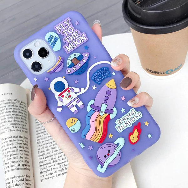 To The Moon iPhone Case