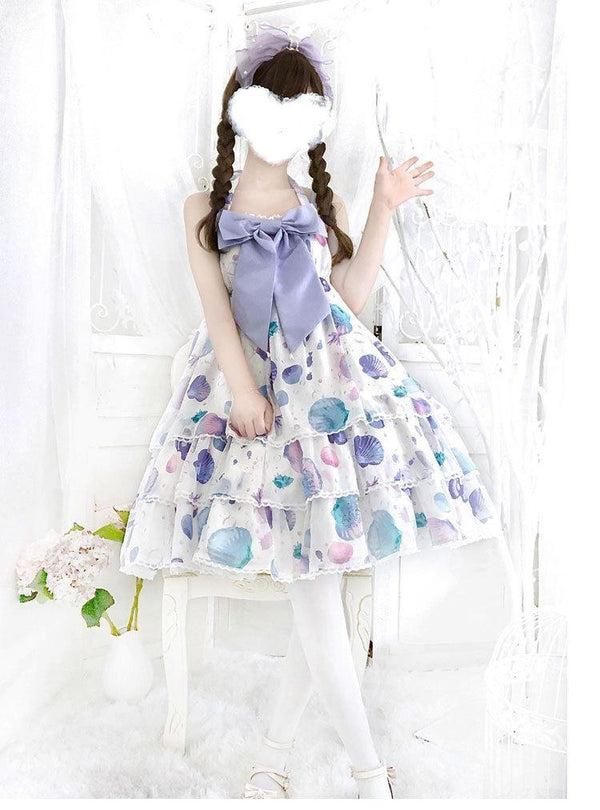 Fairy Mermaid Lolita Dress - dress, dresses, fairy kei, keis, jsk