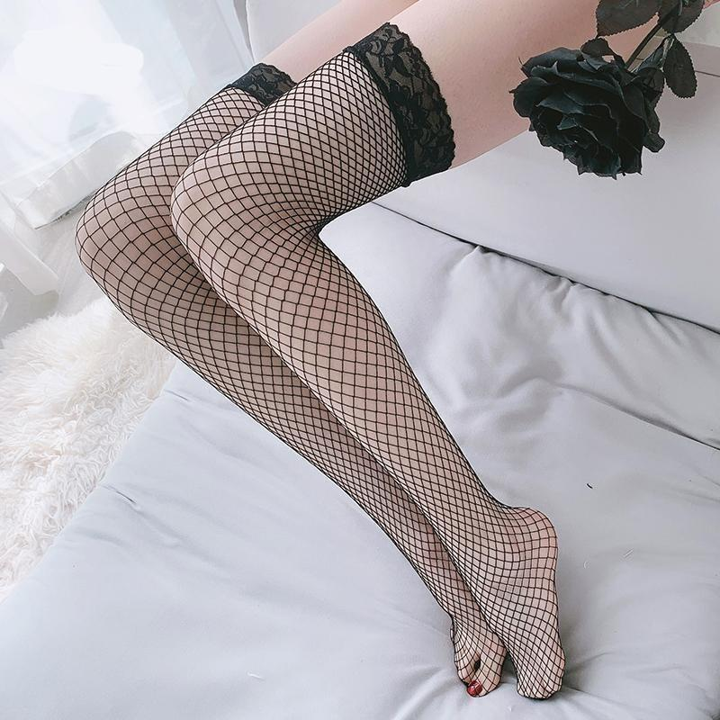 Fishnet Lace Stockings (5 colors)