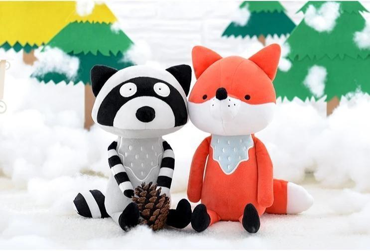 Fox & Coon Plushies - plush