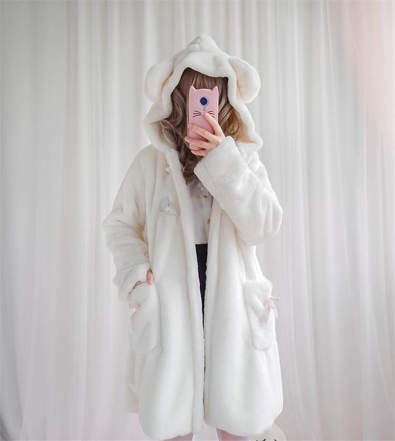 Fur Neko Winter Coat - jacket