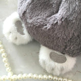 Bunny Rabbit Tail Purse Handbag Messenger Bag Fuzzy Furry Vegan Fur Soft String Of Pearls