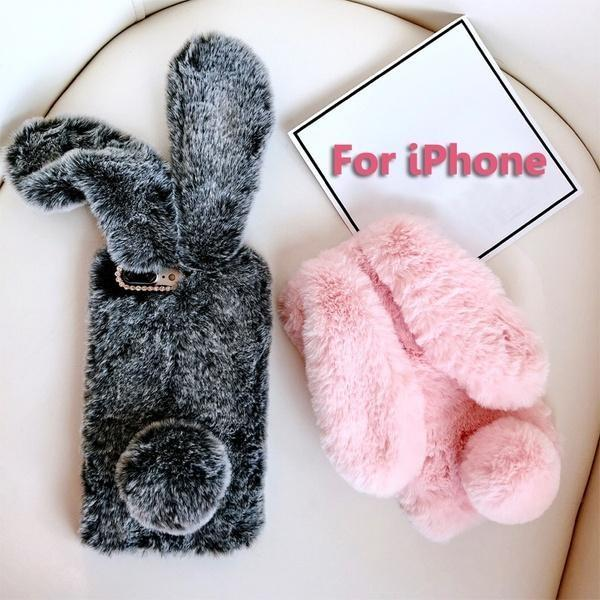 Fuzzy Bunny iPhone Case - Phone Case