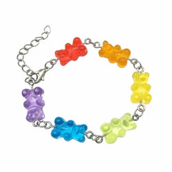 Gummy Bear Bracelet - Rainbow Bracelet - jewelry