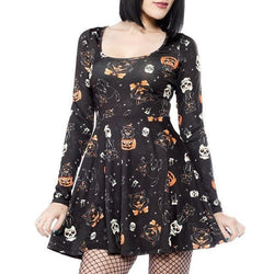 Halloween Party Dress - Black / L - dress
