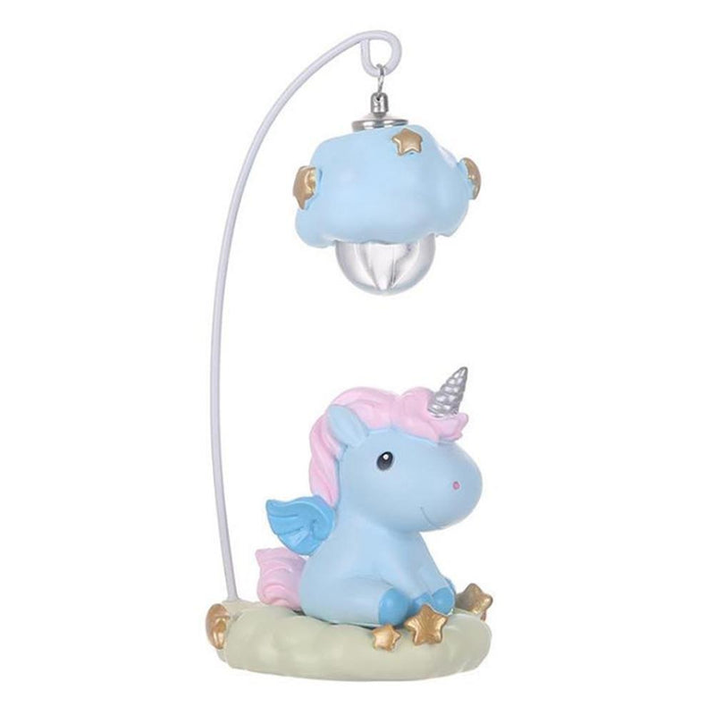 Hanging Unicorn Night Light - Blue - lamp