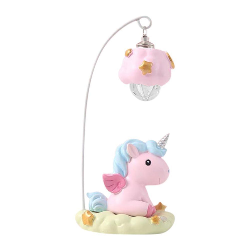 Hanging Unicorn Night Light - Pink - lamp