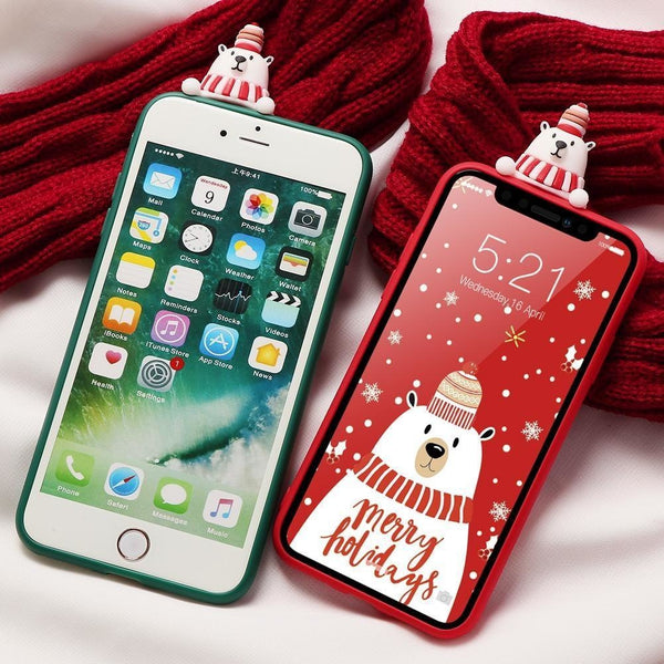 Holiday Critters iPhone Case - phone case