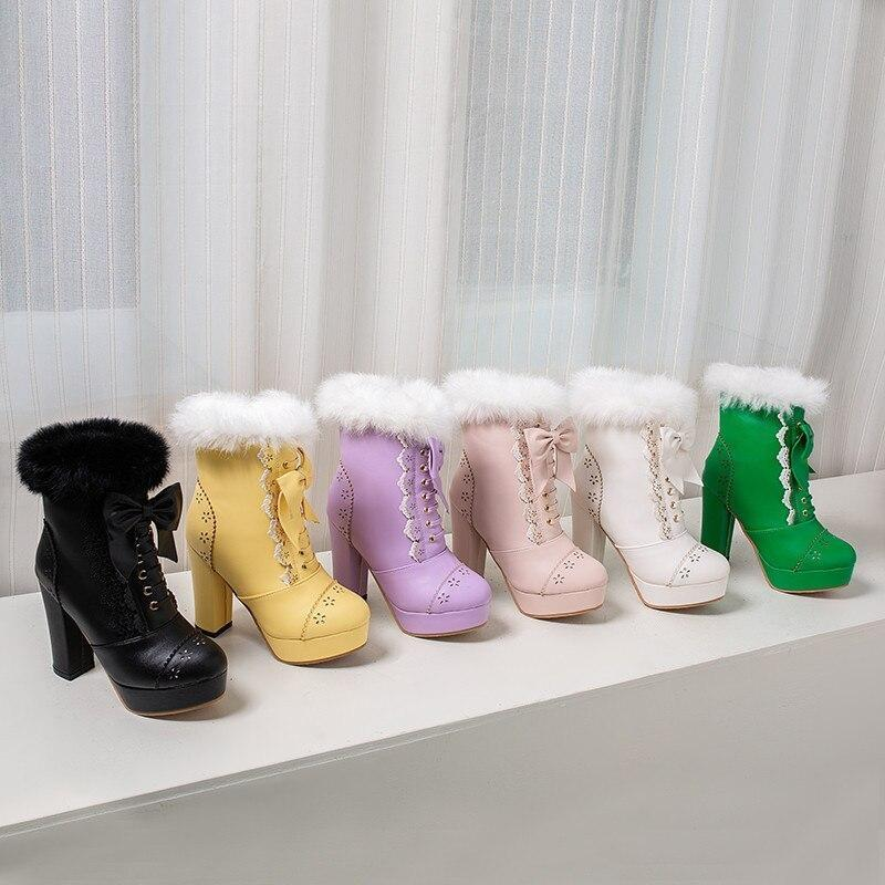 Holiday Lolita Booties - boots