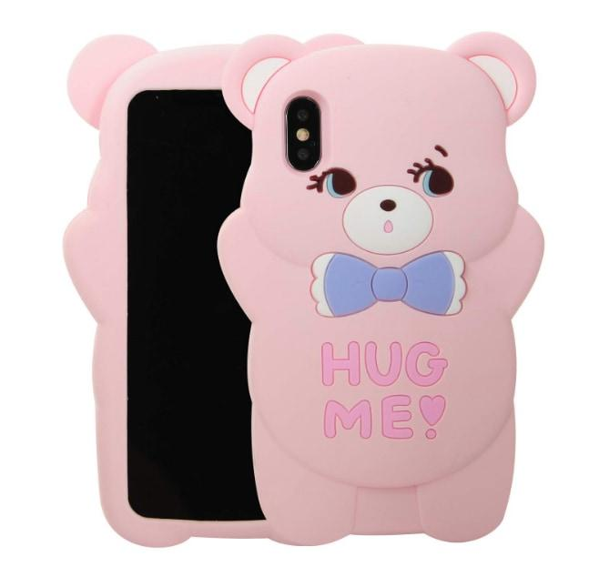 Hug Me iPhone Case - Pink / For iPhone 6 or 6s - phone case