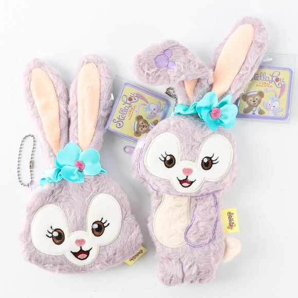 Plush Lavender Bunny Coin Bag
