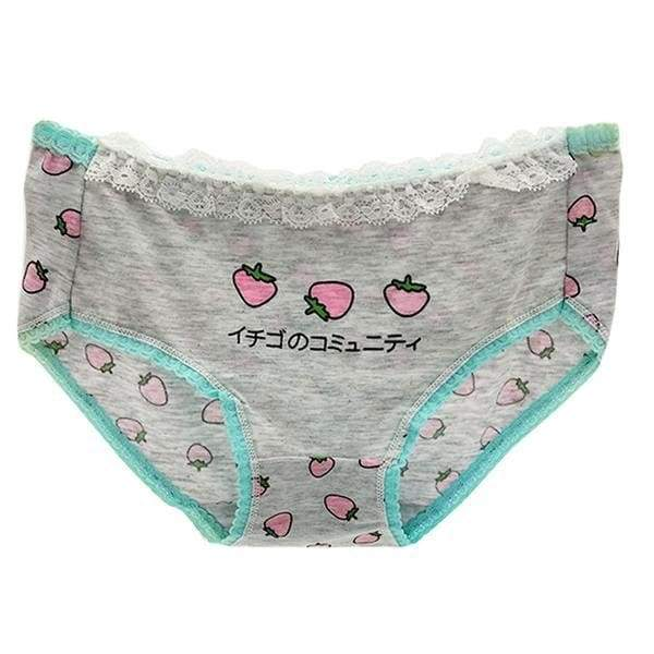 Pastel Strawberry Undies