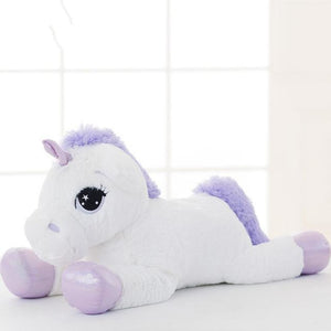 oversized jumbo unicorn plush toy soft stuffed animal magical enchanted unicorns horn fairy kei pastel abdl cgl