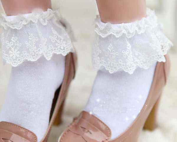 Ruffled Princess Socks