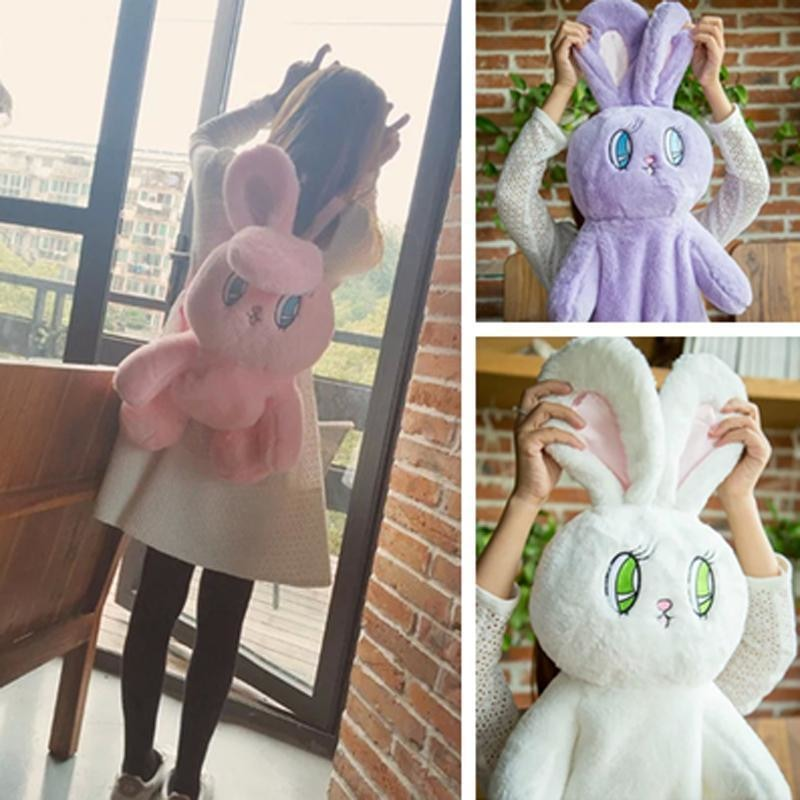 kawaii wego bunny rabbit backpack book bag rucksack satchel  plush stuffed animal toy abdl cgl dd/lg community by ddlg playground