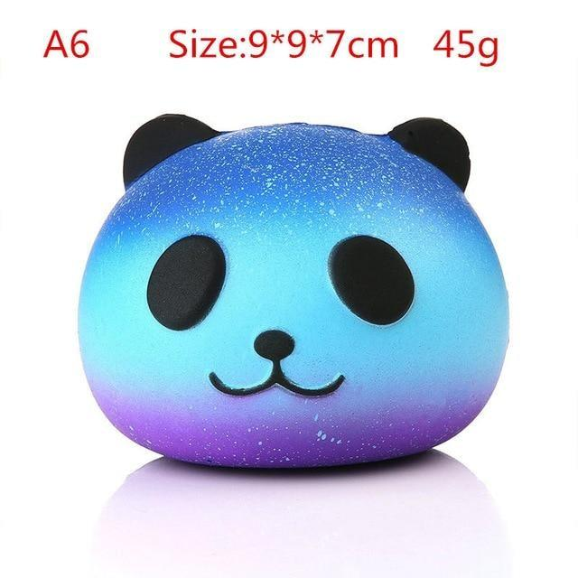 Kawaii Squishies (40+ Styles) - 10cm Blue Panda - squishy