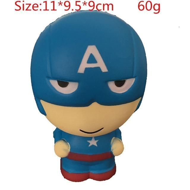Kawaii Squishies (40+ Styles) - 11cm Captain America - squishy
