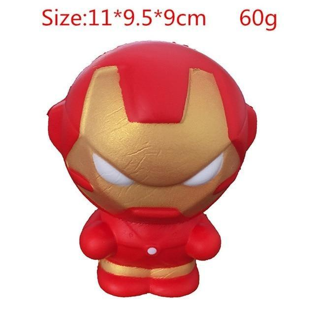 Kawaii Squishies (40+ Styles) - 11cm Iron Man - squishy