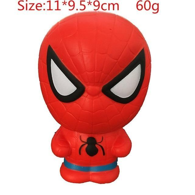 Kawaii Squishies (40+ Styles) - 11cm Spider Man - squishy