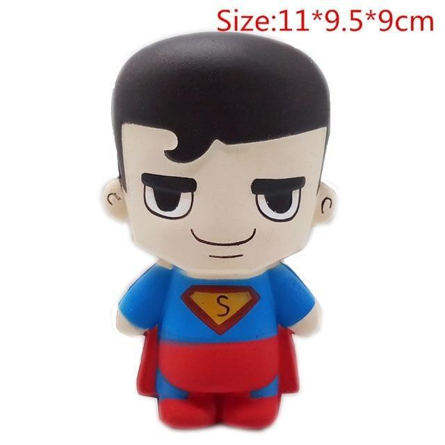 Kawaii Squishies (40+ Styles) - 11cm Superman - squishy