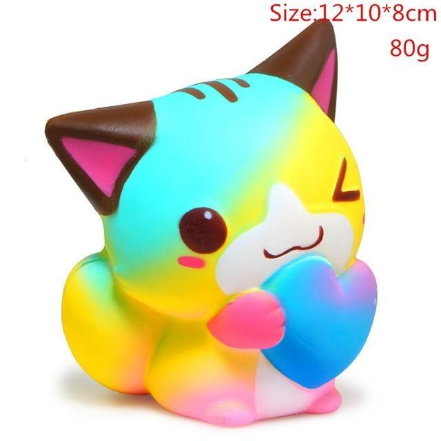 Kawaii Squishies (40+ Styles) - 12cm Playful Kitty - squishy