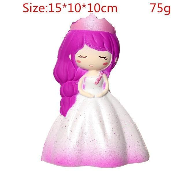 Kawaii Squishies (40+ Styles) - 15cm Purple Princess - squishy