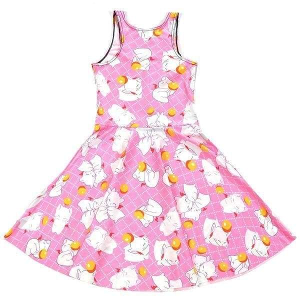 Pink Kitten Play Skater Dress Plus Size Kawaii Fashion Little Space CGL Pet Play by DDLG Playground